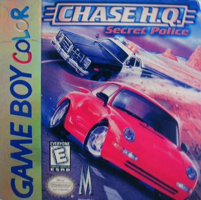 Chase H.Q.: Secret Police Cover Art