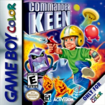 Commander Keen Cover Art