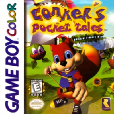 Conker's Pocket Tales Cover Art