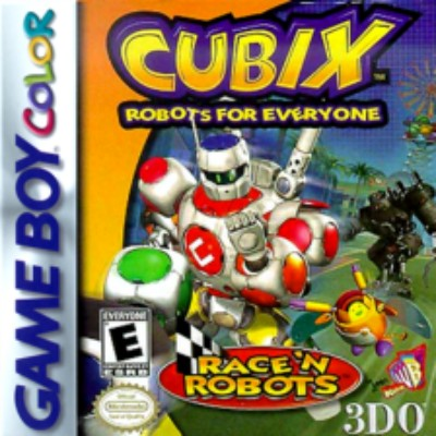 Cubix Robots for Everyone: Race'n Robots Cover Art