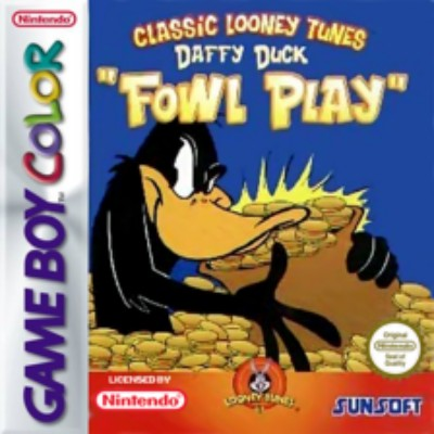 Daffy Duck: Fowl Play Cover Art