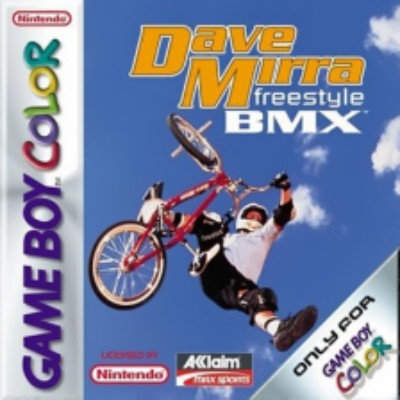 Dave Mirra Freestyle BMX Cover Art