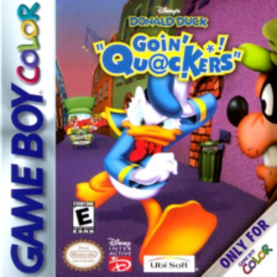 Donald Duck: Goin' Quackers Cover Art