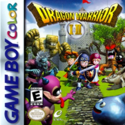 Dragon Warrior I & II Cover Art