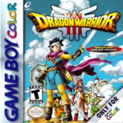 Dragon Warrior III Cover Art