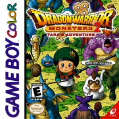 Dragon Warrior Monsters 2: Tara's Adventure Cover Art