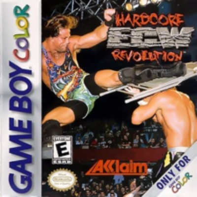 ECW Hardcore Revolution Cover Art