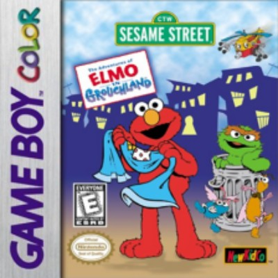 Adventures of Elmo in Grouchland Cover Art