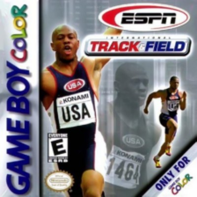 ESPN International Track and Field Cover Art