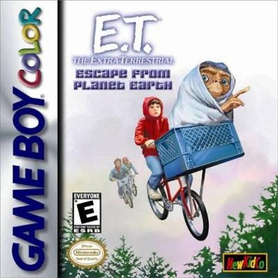 E.T. Escape from Planet Earth Cover Art
