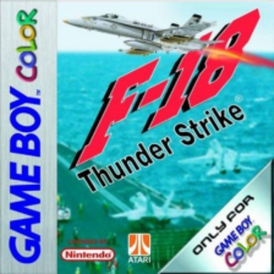 F-18 Thunder Strike Cover Art