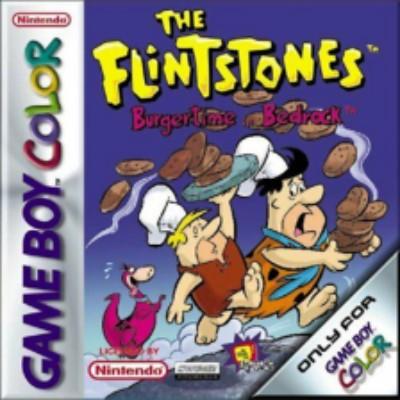 Flintstones: Burgertime in Bedrock Cover Art