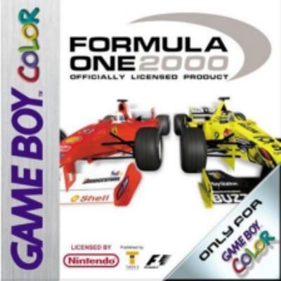 Formula One 2000 Cover Art