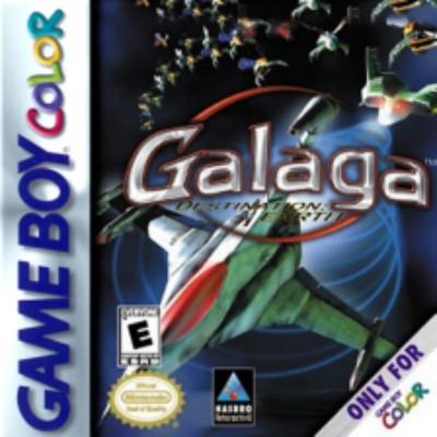 Galaga: Destination Earth Cover Art