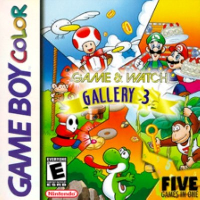 Game & Watch Gallery 3 Cover Art