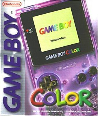 Game Boy Color [Atomic Purple] Cover Art
