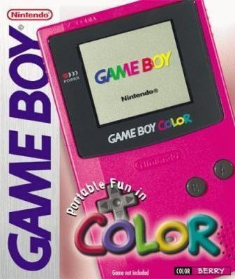 Game Boy Color [Berry] Cover Art