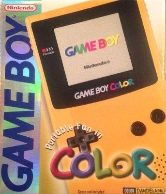 Game Boy Color [Dandelion] Cover Art