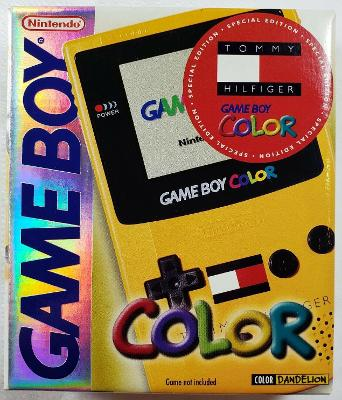 Game Boy Color [Limited Edition Tommy Hilfiger Edition] Cover Art
