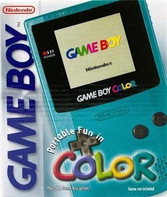 Game Boy Color [Teal] Cover Art