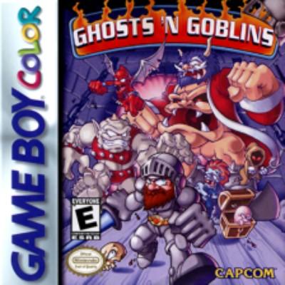 Ghosts N Goblins Cover Art