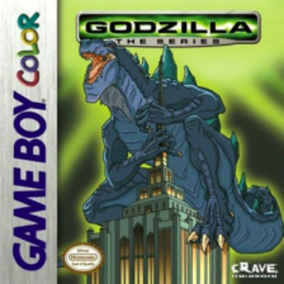 Godzilla the series Cover Art