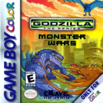 Godzilla the series: Monster Wars Cover Art