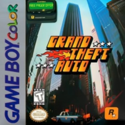 Grand Theft Auto Cover Art