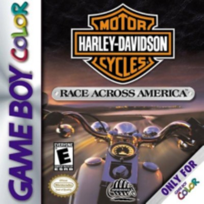 Harley Davidson: Race Across America Cover Art