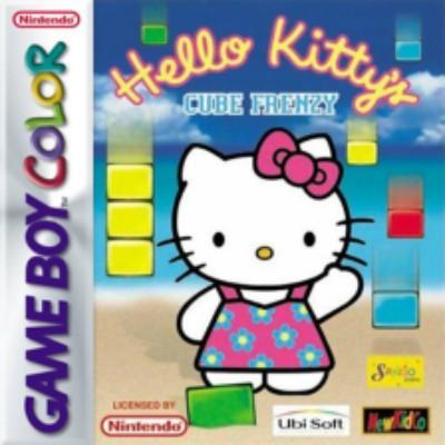 Hello Kitty's Cube Frenzy Cover Art