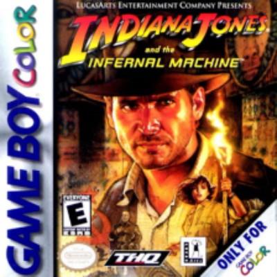 Indiana Jones and the Infernal Machine Cover Art