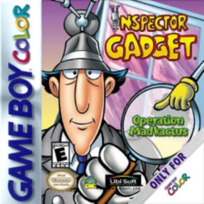 Inspector Gadget: Operation Madkactus Cover Art