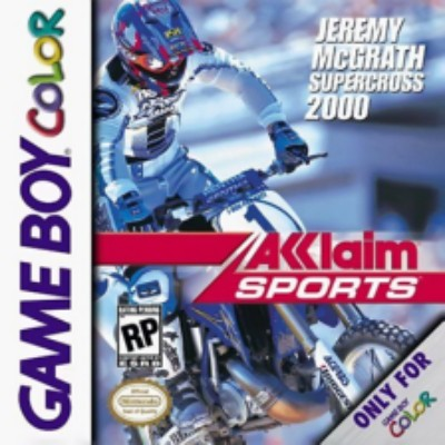 Jeremy McGrath Supercross 2000 Cover Art