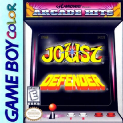 Arcade Hits: Joust / Defender Cover Art