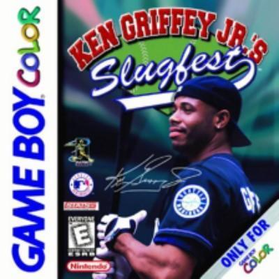 Ken Griffey Jr's Slugfest Cover Art