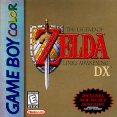 Legend of Zelda: Link's Awakening DX Cover Art