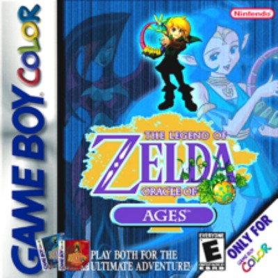 Legend of Zelda: Oracle of Ages Cover Art