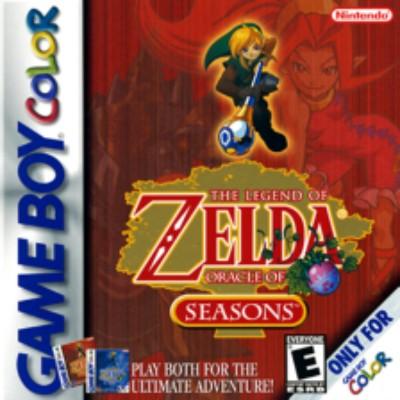 Legend of Zelda: Oracle of Seasons Cover Art