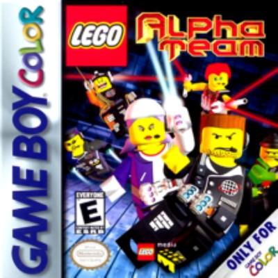 Lego Alpha Team Cover Art
