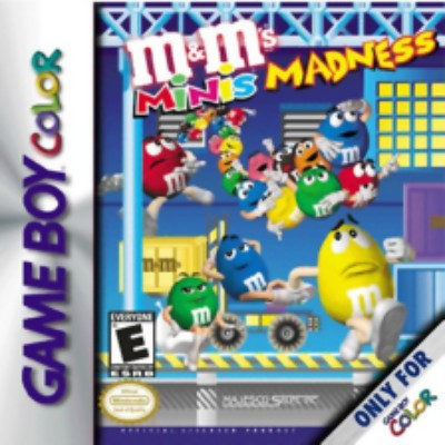 M & M's Minis Madness Cover Art