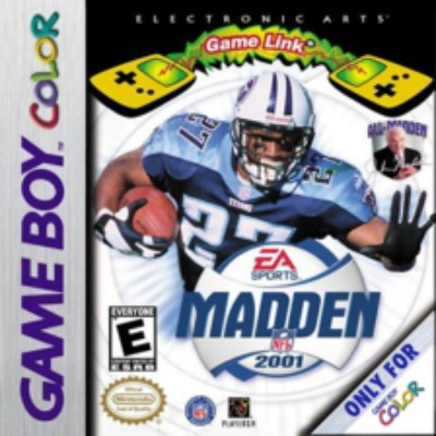 Madden 2001 Cover Art