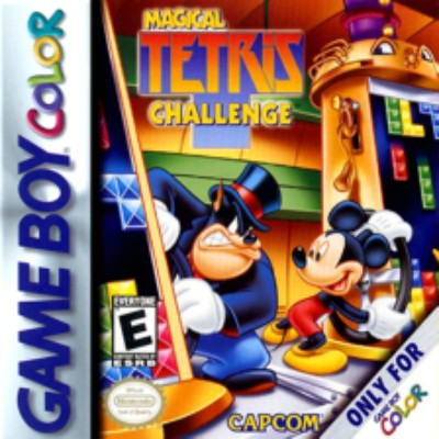 Magical Tetris Challenge Cover Art