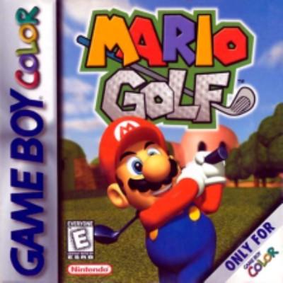 Mario Golf Cover Art