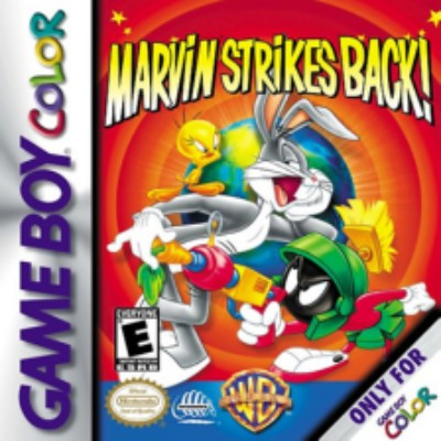 Looney Tunes: Marvin Strikes Back Cover Art