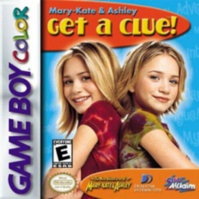 Mary Kate & Ashley: Get a Clue Cover Art