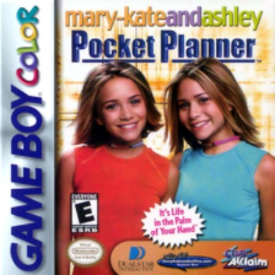 Mary Kate & Ashley: Pocket Planner Cover Art