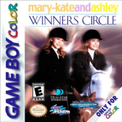 Mary Kate & Ashley: Winner's Circle Cover Art