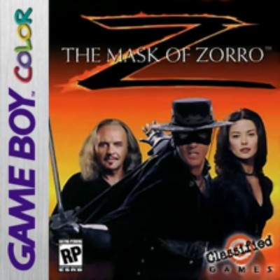 Mask of Zorro Cover Art