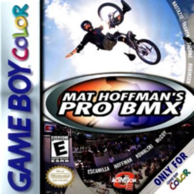 Mat Hoffman's Pro BMX Cover Art