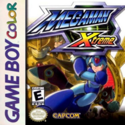 Mega Man Xtreme Cover Art